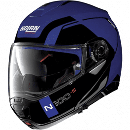 Casque Nolan 100.5 Consistency N-Com Chrome