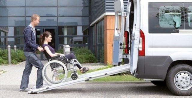 transport à la demande pour personne handicapée