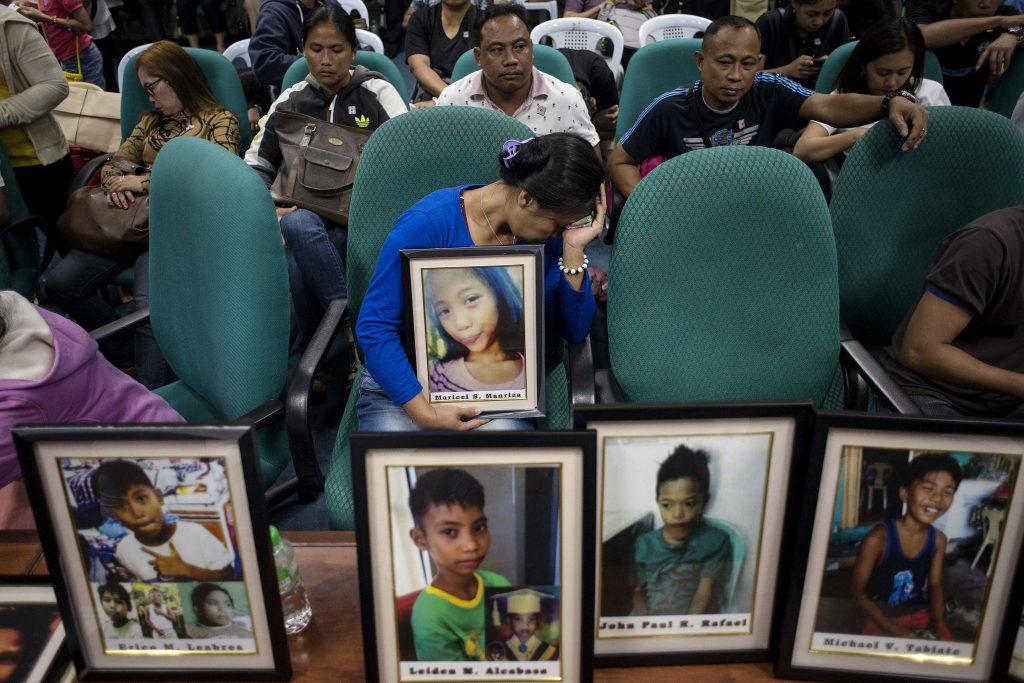 portraits d'enfants morts de la dengue