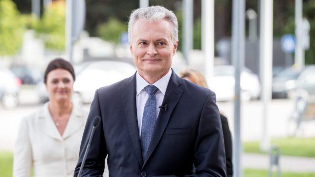 Gitanas Nauseda président de la Lituanie