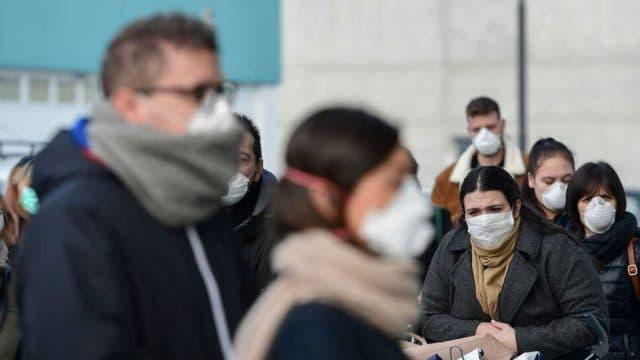400 cas de coronavirus en italie