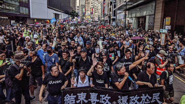 manifestations hong-kong