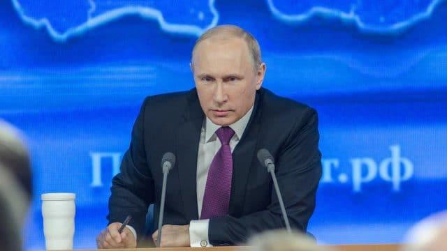 Vladimir Poutine, président de la Russie 2020
